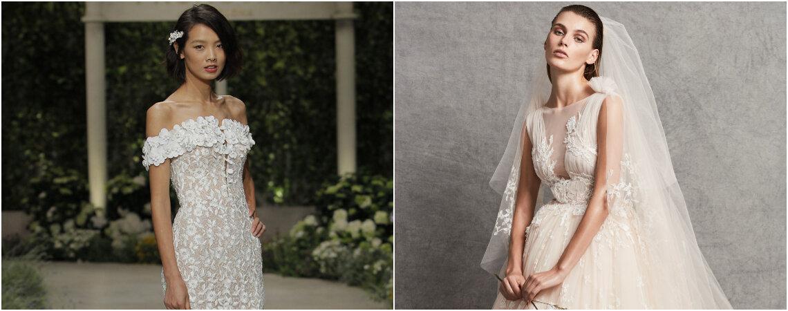 Scopri i 100 abiti da sposa 2019 più belli delle ultime collezioni