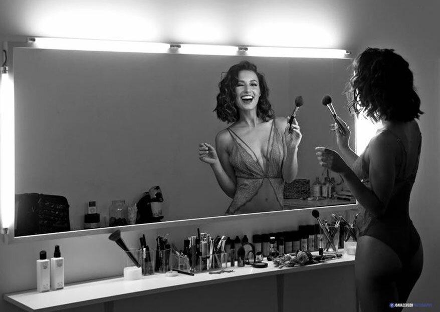 Bridal Makeup Studio: a arte (de maquilhar) que enaltece a beleza natural da noiva