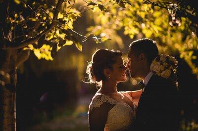 Carolina y Diego, la boda de un amor ya escrito
