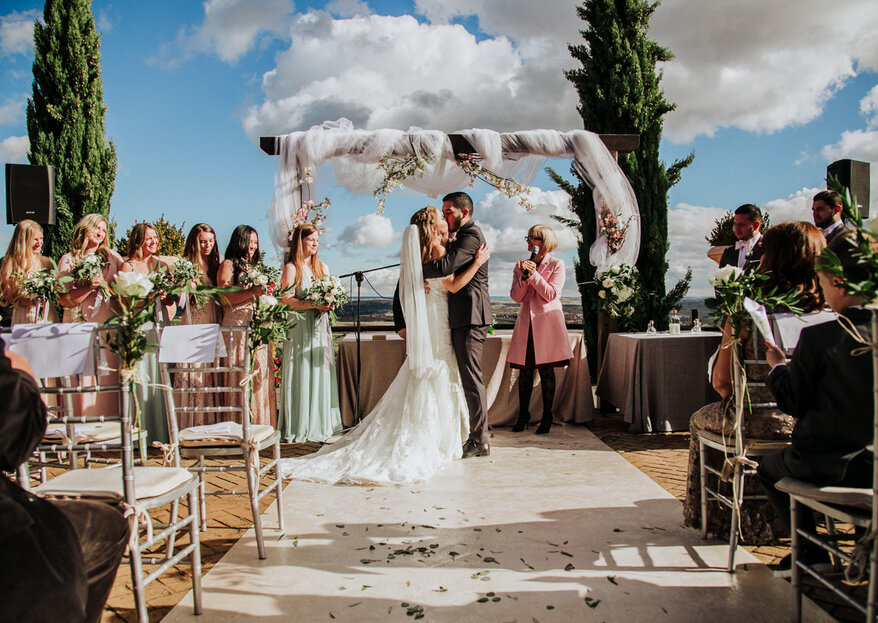 Dos culturas y un gran día: la boda de Natalie y Jessid