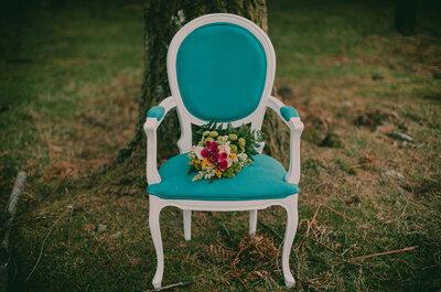 Decoração colorida: Um casamento vibrante e cheio de personalidade