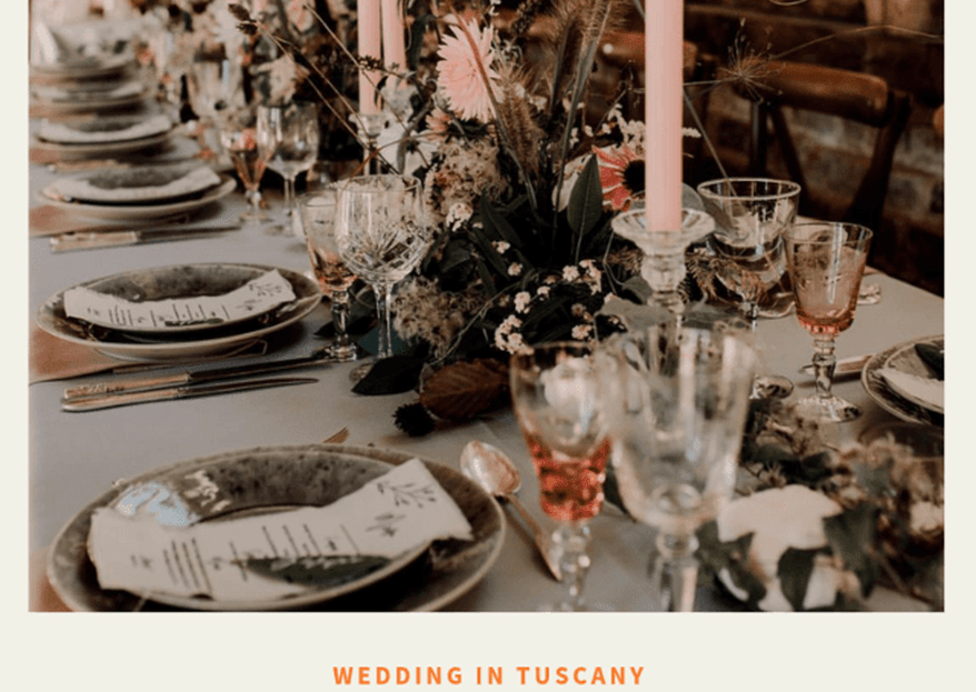 A picture perfect destination wedding in Tuscany at the hands of Switch Events