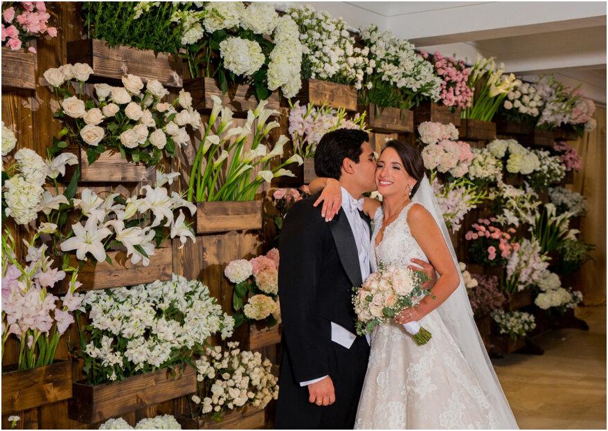 Flores para decorar tu boda: ¡elige las mejores siguiendo estas recomendaciones!