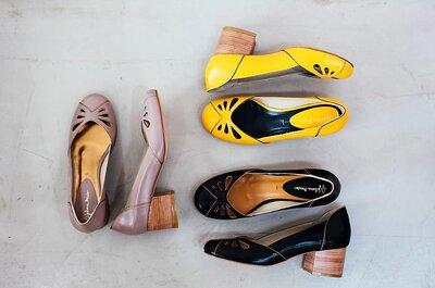 Sapatos lindos e confortáveis para madrinhas e convidadas: dance até o sol raiar!