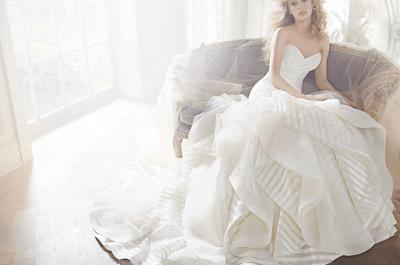 Vestidos de novia 2013 con estilo romántico de Hayley Paige