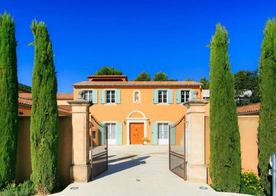 Château Pas du Cerf : choisissez l'un des joyaux architecturaux de Provence pour votre plus beau jour