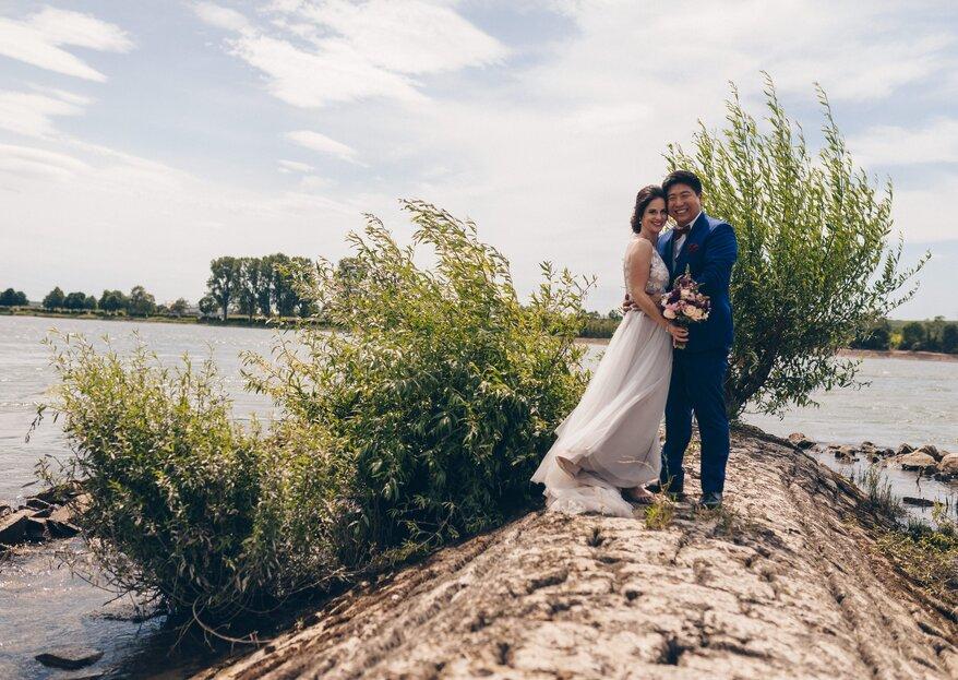 Fabienne und Hanols emotionale Hochzeit mit der perfekten Harmonie aus zwei Kulturen!