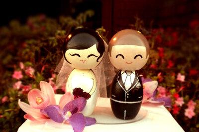 Los más originales muñecos para pastel de boda: Deja que tu creatividad sorprenda a la hora del postre
