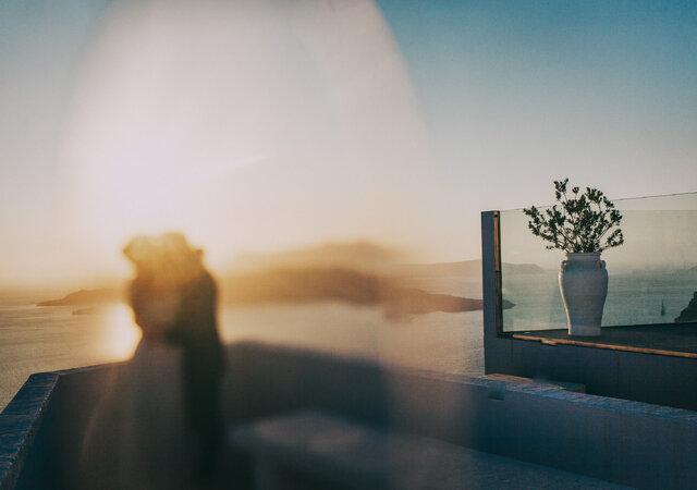 Weder and Juliana's Sublime Destination Wedding in Santorini