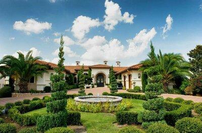Magical Glamour: Azadeh + Brian´s Wedding in Texas