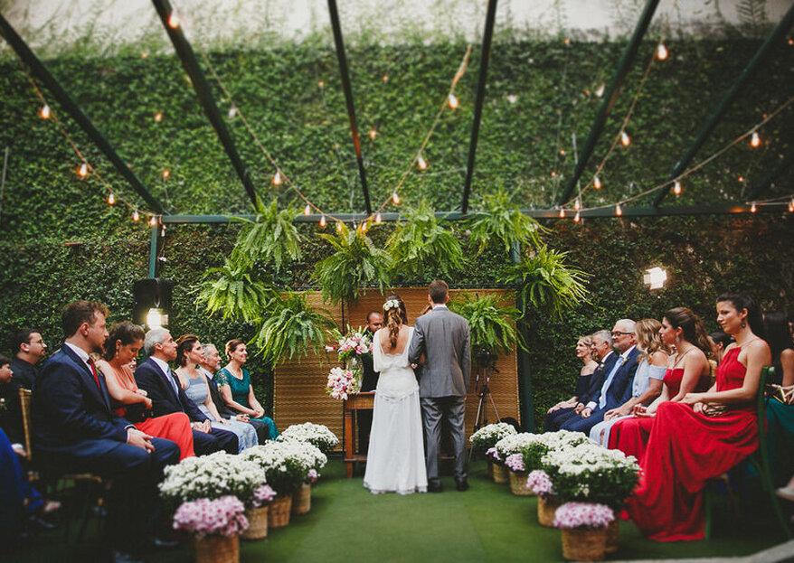 Solar das Palmeiras: casa histórica com belos jardins para casamentos ao ar livre na Zona Sul do Rio de Janeiro