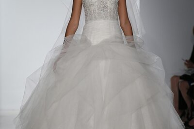 Colección de vestidos de novia Kenneth Pool 2015  - New York Bridal Week