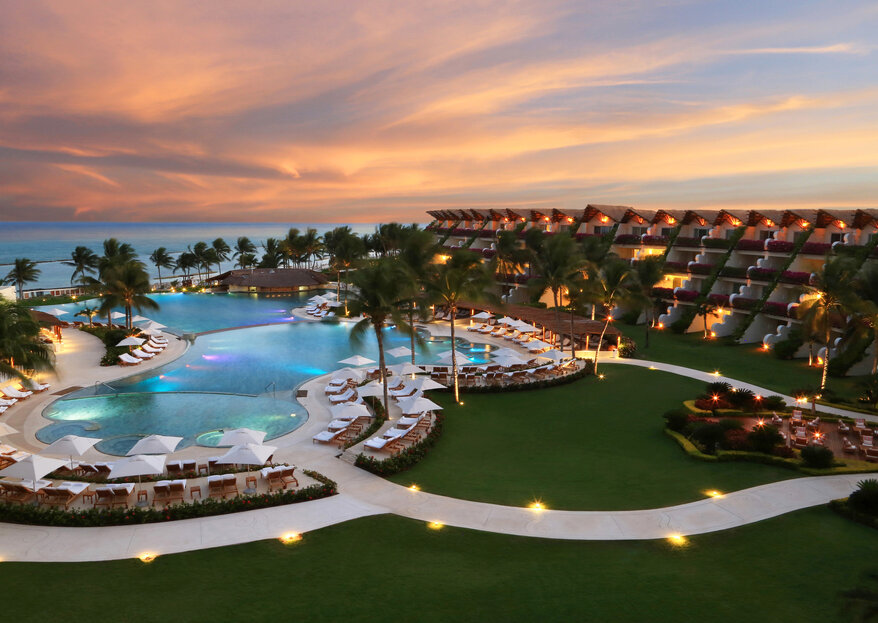 Velas Resorts: five amazing destination wedding hotels in Mexico