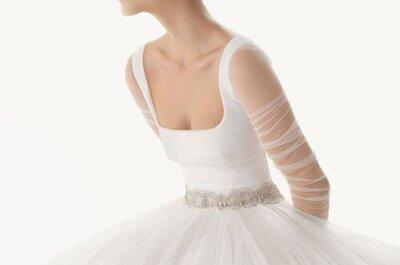Vestidos de noiva para mulheres magras 2017: espetaculares!