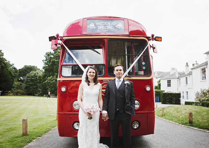 Lucy and John's Vintage 50's Style Wedding in Richmond Park