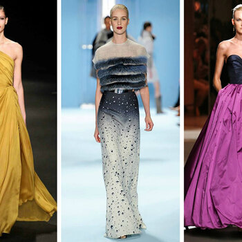 New York Fashion Week: inspirations from the Autumn-Winter 2015/16 Collections for your next winter wedding
