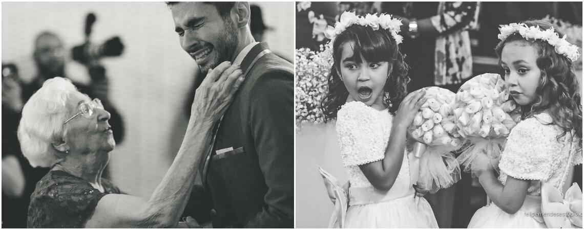 Crianças e avós nos casamentos: passado e futuro unidos para emocionar!