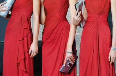 Las damas de boda revolucionan la moda: Así vestirán en 2014