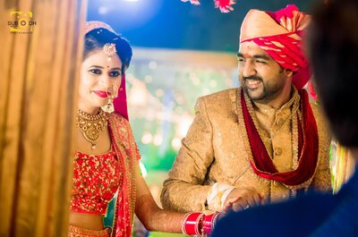 Amazing wedding of Nancy and Abhinav- the one with the college love