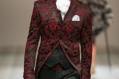 Extravagante Anzüge für den Bräutigam