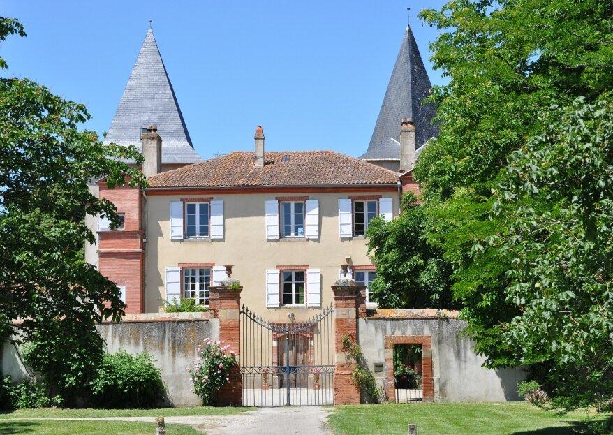 Votre mariage campagne chic au Château de Riveneuve du Bosc