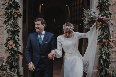 Miss Cavallier, la blogger de Confesiones de una boda, se ha casado. ¡No te pierdas su historia de amor!