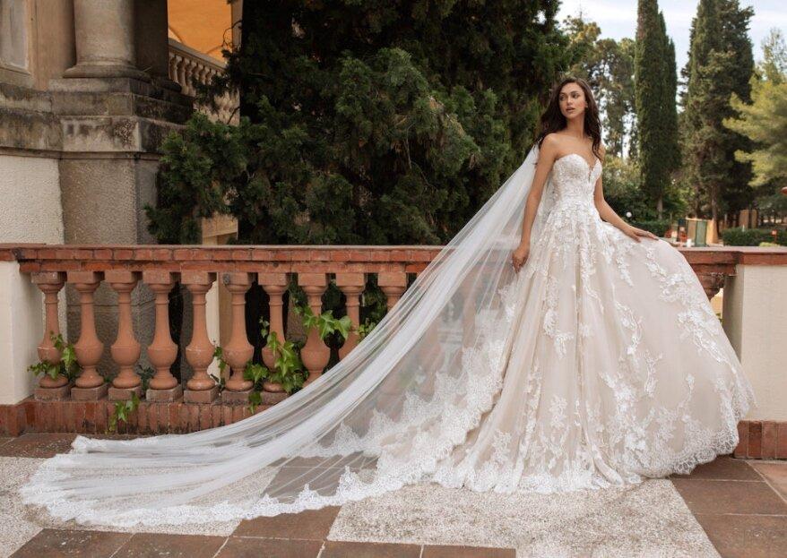 Découvrez en avant- première le catalogue de robes de mariée 2021 de Déclaration Mariage