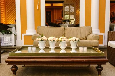 Un Real Wedding nella casa degli sposi: un'ipotesi alternativa e low cost, di sicuro effetto