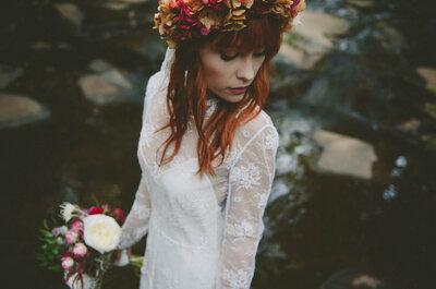 Wie man eine romantische Vintage-Hochzeit plant! Nostalgie kunstvoll inszeniert