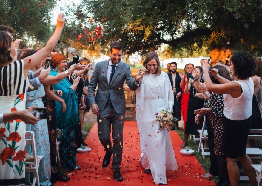 Dos bodas y muchas emociones: el gran día de Carmen y Albert