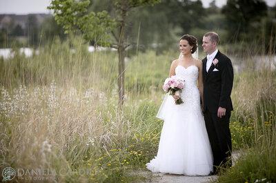 Beneath Vaulted Skies: Alicia + Patrick's Wedding in Illinois