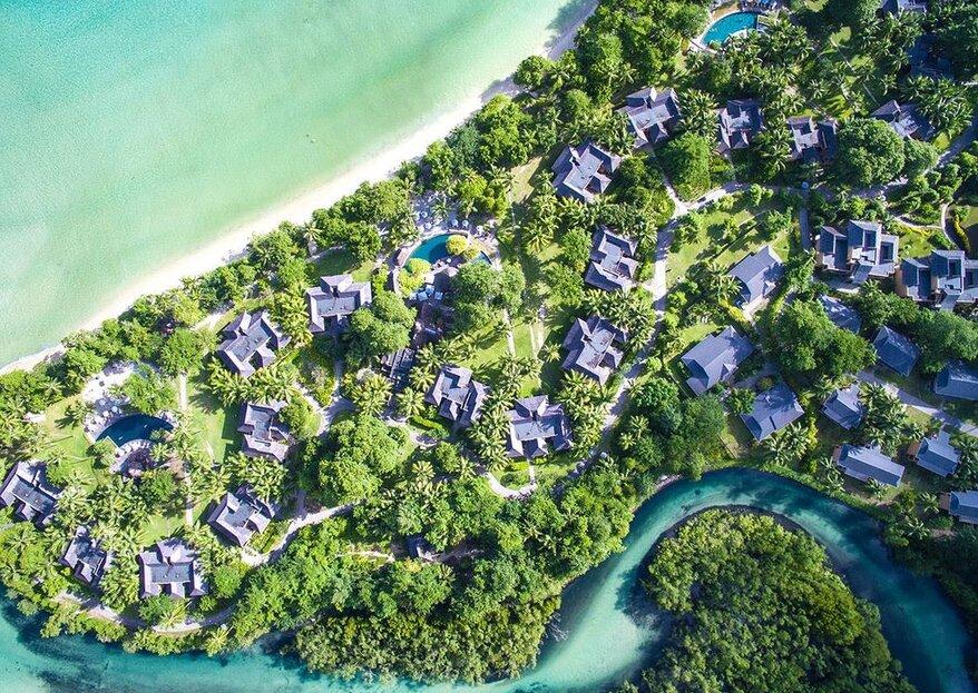 Les meilleurs hôtels de l'Océan Indien pour se marier sur une île paradisiaque