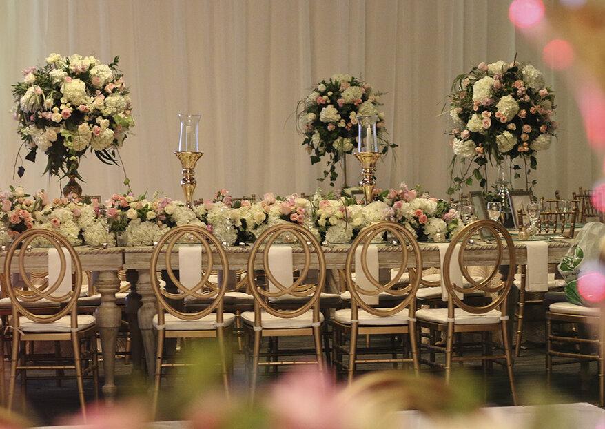 Cinco características infaltables en la decoración de tu boda, según Ruby de Castro