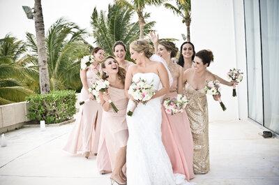 Cómo consentir a los invitados en una boda destino