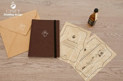 Giset Wedding: особенная свадьба с особенными приглашениями