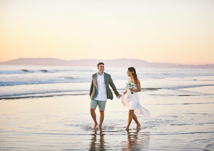 Patrícia & Miguel: a mais romântica sofisticação num background surpreendente