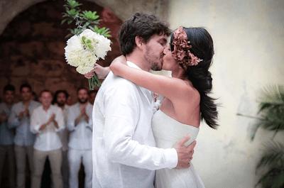 Los 5 secretos de las impactantes fotografías de boda de Juliana Alvarez