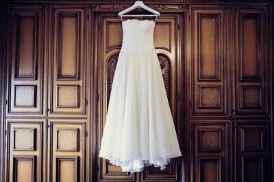 I 10 criteri infallibili per acquistare l'abito da sposa dei tuoi sogni (occhio all'ottavo!)
