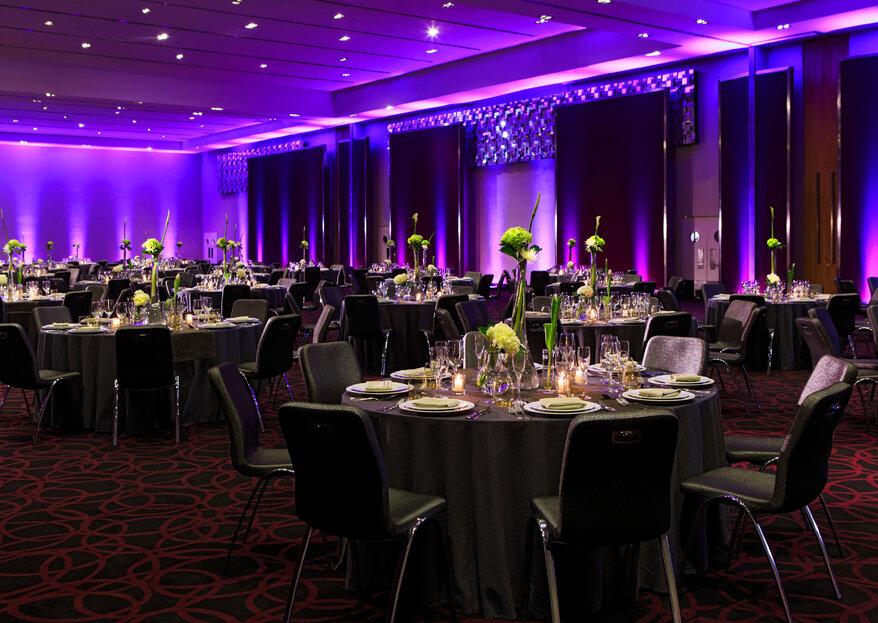 Hotel W Santiago: estilo y sofisticación para celebrar su matrimonio en el centro de la ciudad