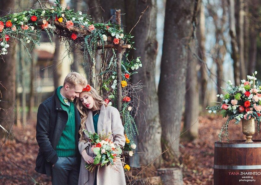 Zauberhafte Ideen für romantische Traubögen auf Ihrer Hochzeit im Herbst