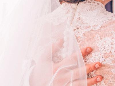 La tendencia más sensual para las novias 2016: las transparencias