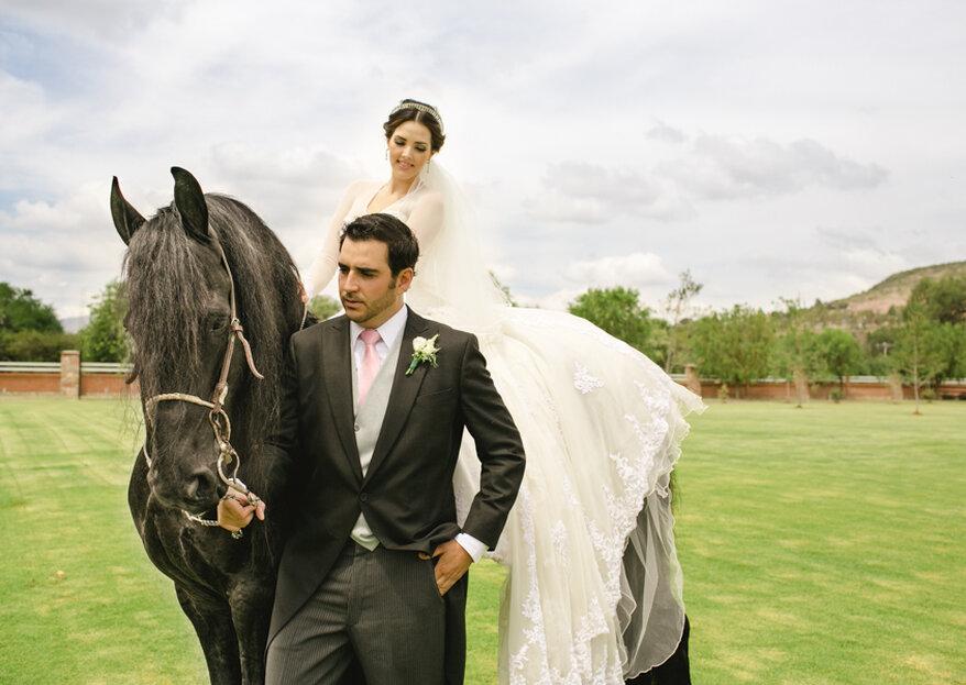 Temática ecuestre para tu boda: Naturaleza, animales y estilo rústico