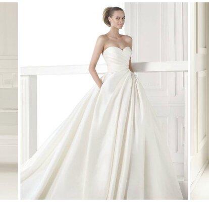 d8824413f Los 50 vestidos de novia más bonitos de esta temporada ¡Todos te encantarán!