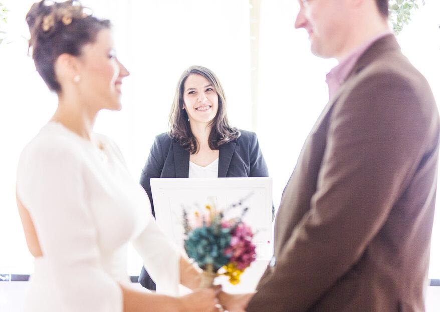 Trámites para celebrar la boda civil ante notario