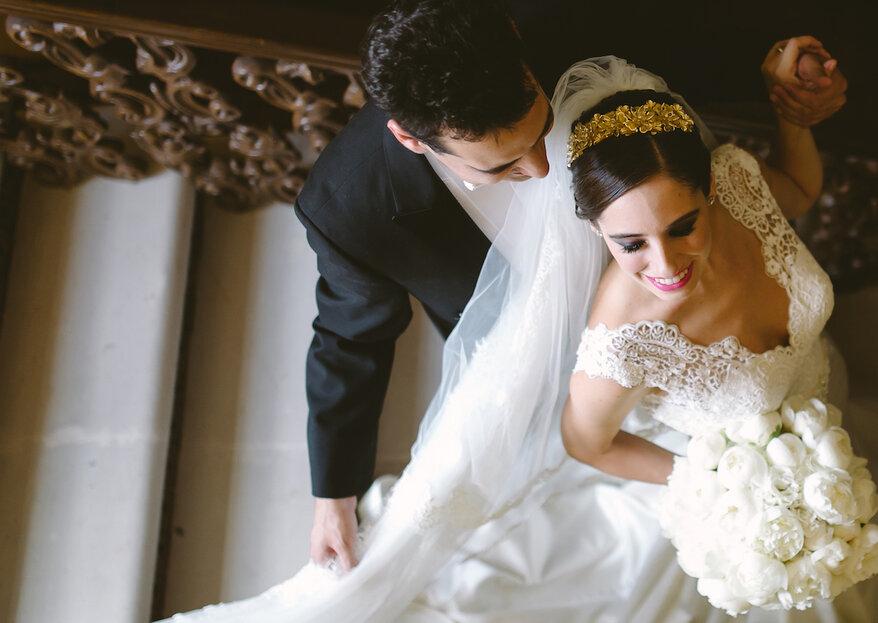8 firmas de tocados de novia 100% mexicanas