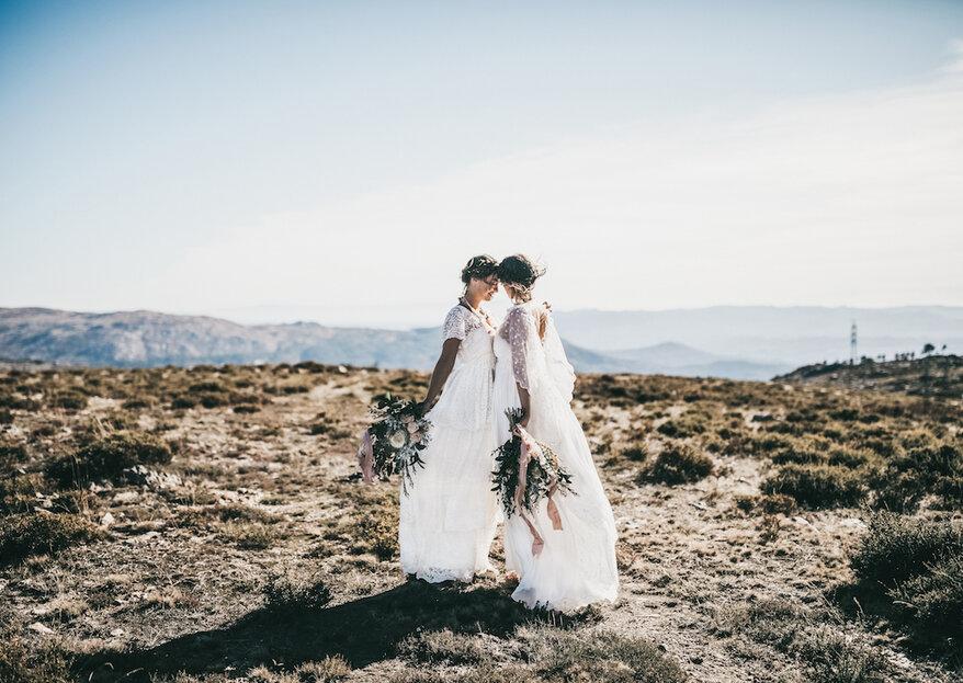 5 bouquets para a noiva de estilo boémio. Você vai apaixonar-se!