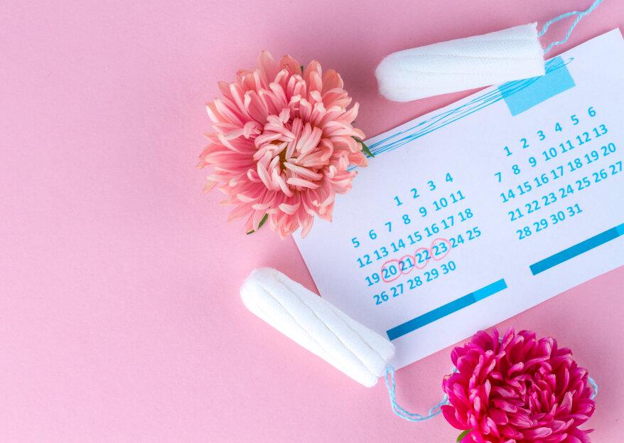 ¿Menstruación el día del matrimonio? ¡Ya no será un problema!