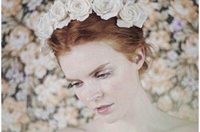 Des fleurs dans les cheveux…