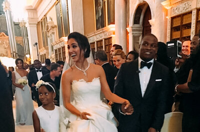 Casal gastou mais de 18 milhões de reais em seu casamento!