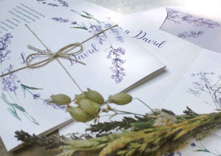 Comotinta: invitaciones 100% románticas ante las que caerás rendida